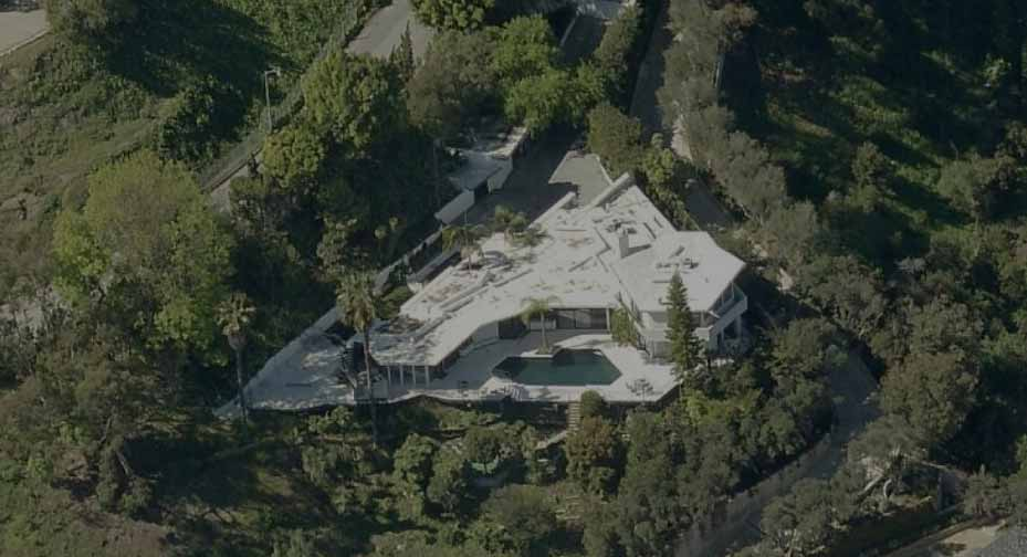 The Scott United States Bel-Air from a Bird's Eye View