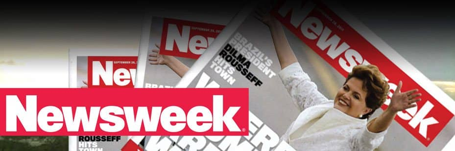The Scott Press Room Page Background Picture with the Cover of the Newsweek Magazine