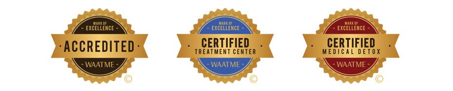 The Scott WAATME accreditation seals